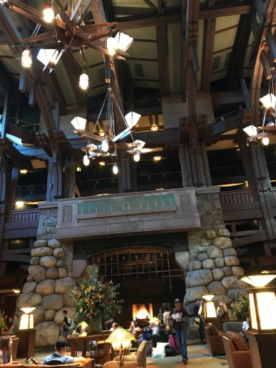 Inside the Grand Californian