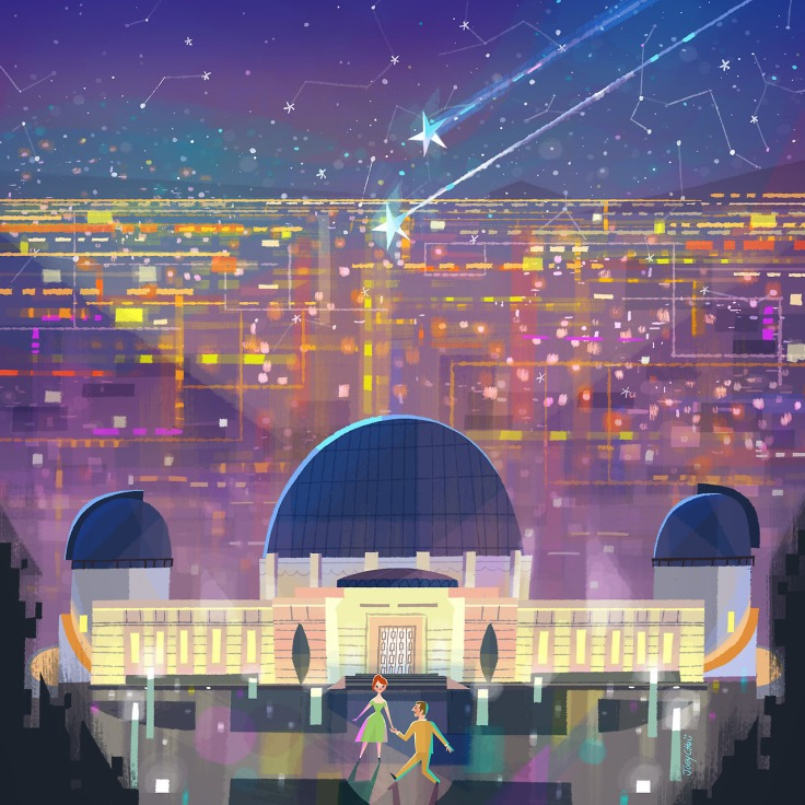 Dance By The Griffith Observatory Joey Chou