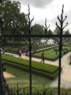 Gardens outside Rijksmuseum