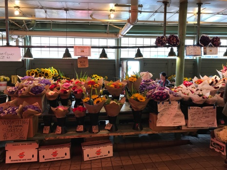 Flowers at the Public Market.