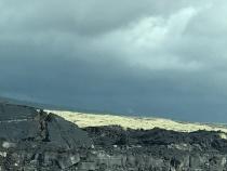 Lava fields near Waikoloa